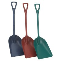 Metal Detectable One-Piece Shovels