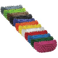 Tank brush is available in a wide variety of colors.
