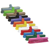Vikan Total Color Deck Brushes are available in 8 colors!
