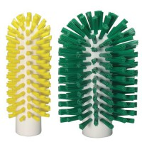 Vikan Stiff Bristle Tube Brushes are available in two sizes.