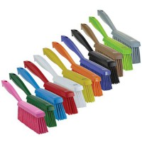 Vikan Total Color Bench Brushes are available in a wide variety of colors.