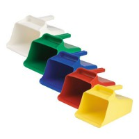 Colored Plastic Mega Scoops
