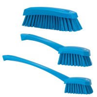 Choose from three styles of Vikan Total Color Scrub Brushes