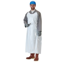 Die-Cut Endeavor Apron provides ten times the abrasion-resistance of PVC and five times that of vinyl.