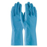 Assurance 18-Mil. Flock-Lined Natural Rubber Latex Gloves
