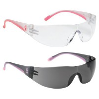 Pink Frame Safety Glasses