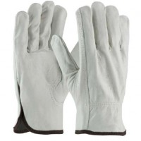 Grain Leather Driver Work Gloves