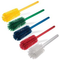 Sparta Bottle Brushes are available in 5 HACCP colors.