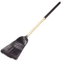 Synthetic Corn Broom (Black)