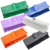 Sparta Bi-Level Floor Scrub Brush is available in multiple colors.