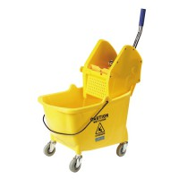 Down-Press Mop Bucket and Wringer