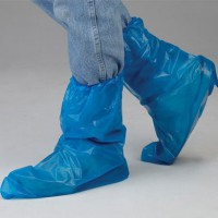 Designed with an elastic top to help keep boots clean.