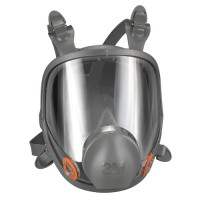 3M 6000 Series Silicone Full-Face Respirator