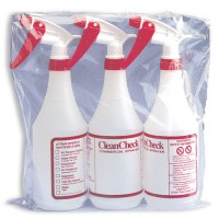 3-Pack, Clean Check Spray Bottles