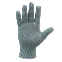 Blue Knit Eco-Gloves