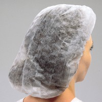Latex-Free, Pleated Bouffant Caps