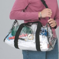 Prime Source Clear PVC Duffel Bag