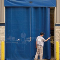 Vinyl and Mesh Roll-Up Doors