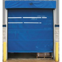 Vinyl & Mesh Roll-Up Doors