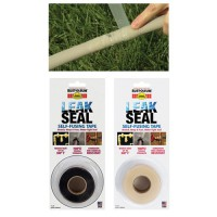 LeakSeal Self Fusing Silicone Tape conforms to any surface while providing a water-tight seal.