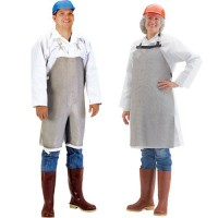 Choose from boning style or split leg style aprons.