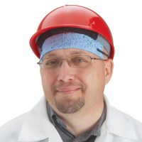Disposable Sweat Band (hard hat shown is sold separately).