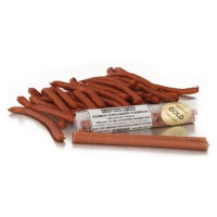Edible, Shirred Collagen Casings for Smoked Product