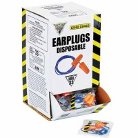 WorkHorse Tapered Disposable Earplugs