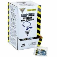Reusable, Metal-Detectable Earplugs