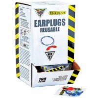 WorkHorse Four-Flange Reusable Earplugs