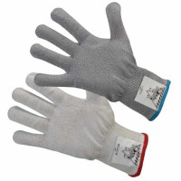 The Workhorse A4 Cut-Resistant Gloves are 13 gauge with ANSI cut-resistance level 4.