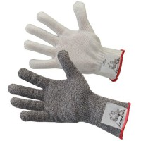 Heavy duty fiber/steel blend delivers A6 cut protection. Available in standard or extended cuff.