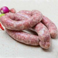 The transparency, of natural casings, allows the consumer to see the sausage ingredients giving perception of quality.
