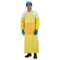 Nitrile Apron with Belly Patch