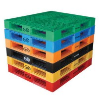 Plastic Pallet Skids are available in six colors.