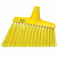 Yellow, Split Bristle Angle Head Broom
