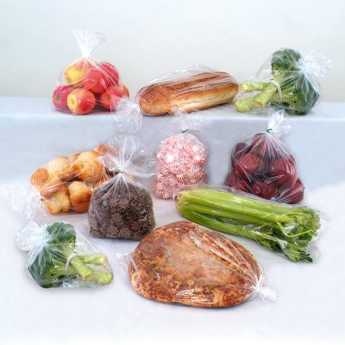 CLARITY Low-Density Poly Food Bags