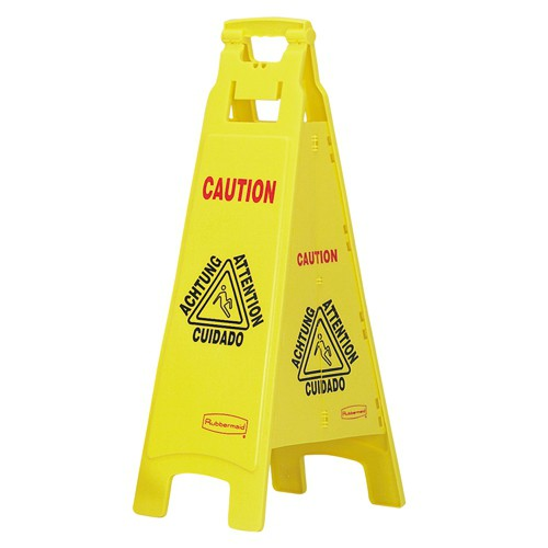 Wet Floor Sign History