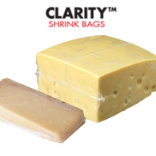 B2800 Gassy Cheese Bags, Clarity Smart Pack Shrink Bags