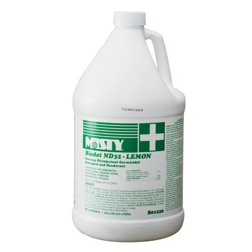 Misty Clear Lemon Disinfectant, 1-Gallon