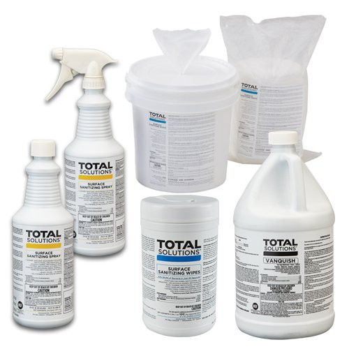 Total Solutions D-2 Sanitizers