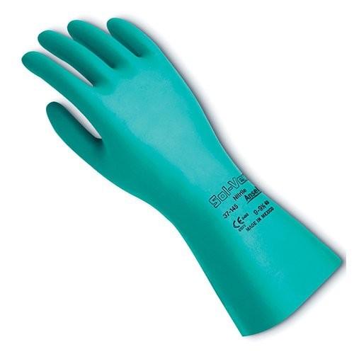 Solvex Unlined Nitrile Gloves