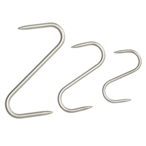 Stainless Steel 'S' Meat Hanging Hooks