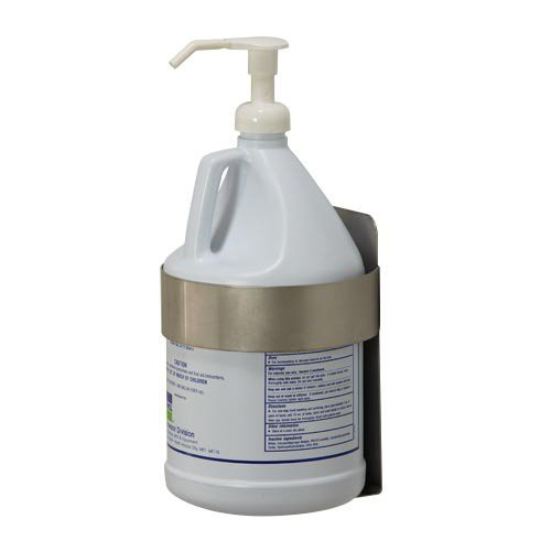 Stainless Steel Wall Mount Gallon Bottle Dispenser Holder