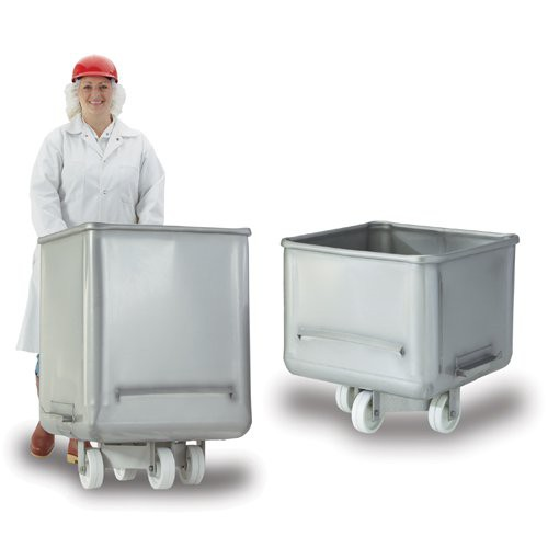 Stainless V-Edge Dump Buggies