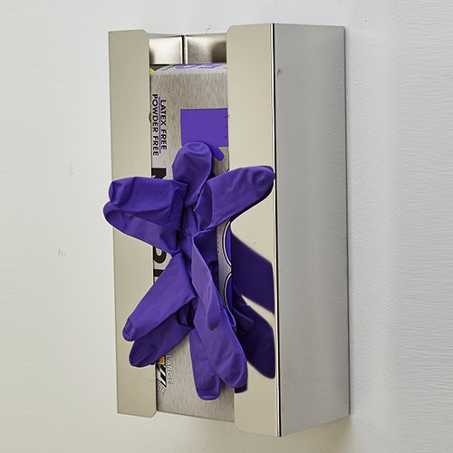 Stainless Steel, Disposable Glove Dispenser