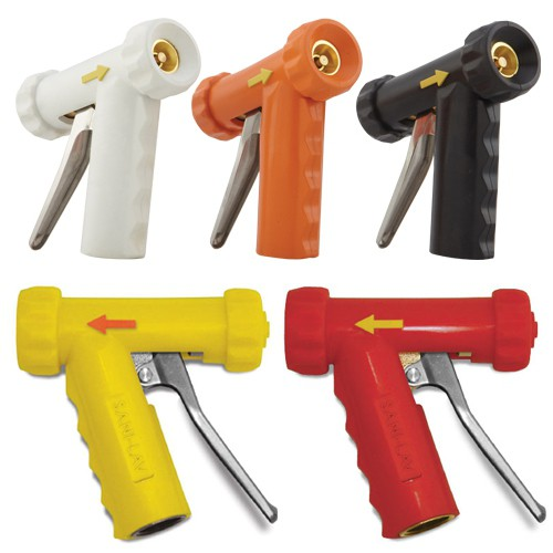 Ergonomic Mid-Size Insulated Hot Water Spray Nozzles