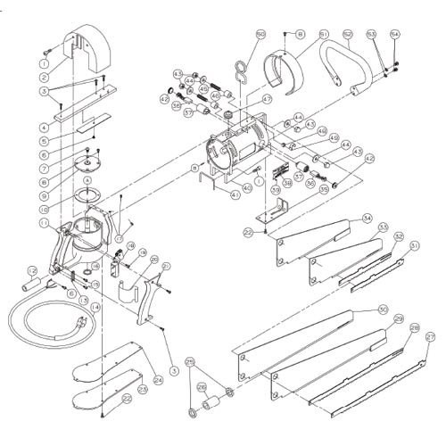 Jarvis Wellsaw 444 Replacement Parts