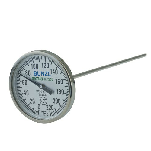 Stainless Steel Bi-Metal Pocket Dial Thermometers