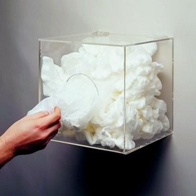 Acrylic Bouffant Dispenser